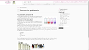 Univers parfums page
